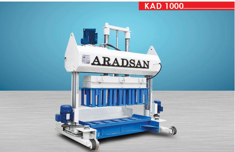 Hydraulic Block & Curbstone Machine KAD1000