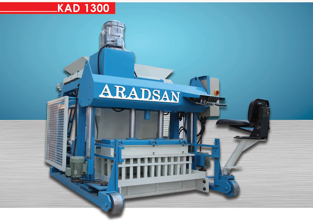 Automatic Block & Curbstone Machine KAD1300