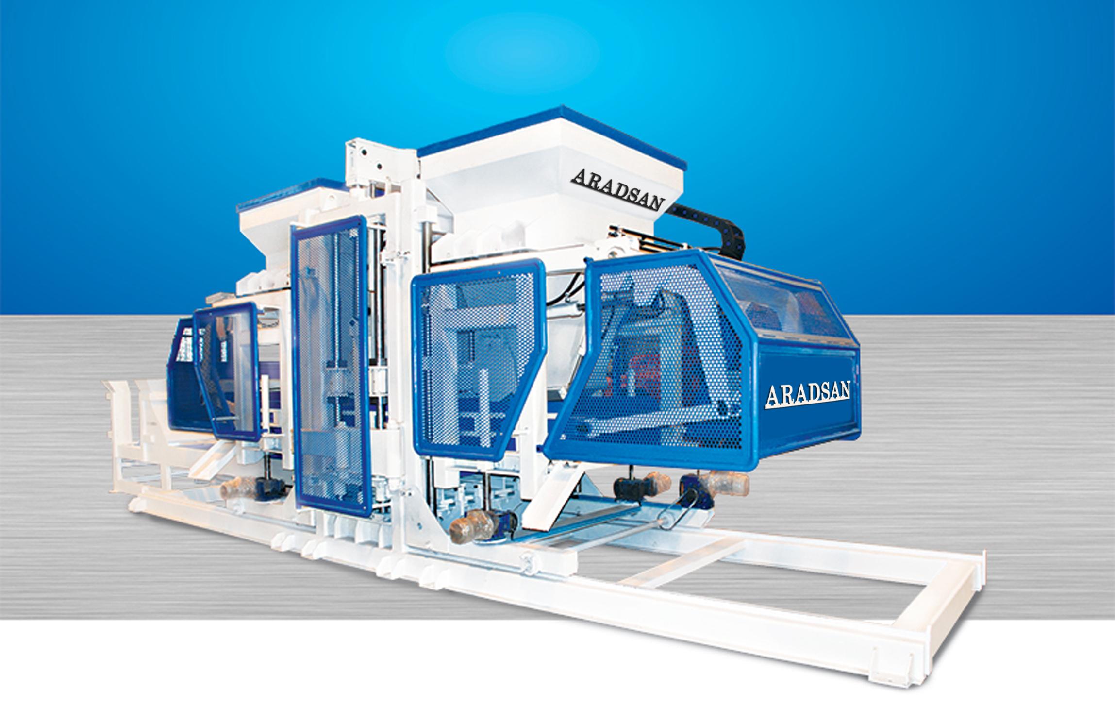 Fully Automatic Concrete Blocks Machine TP.RN2530